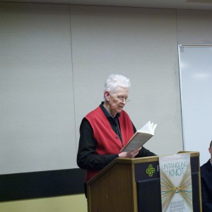 Judith Barrington reading her essay from Untangling the Knot
