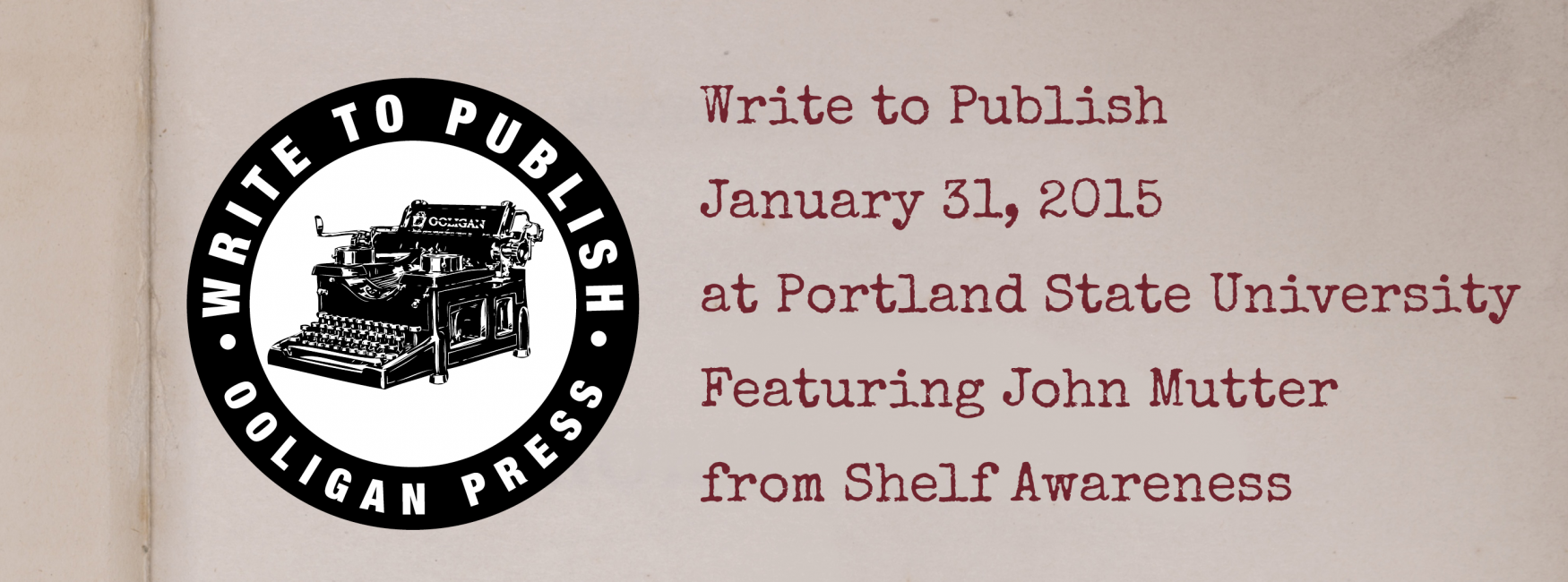 Write to Publish 2015