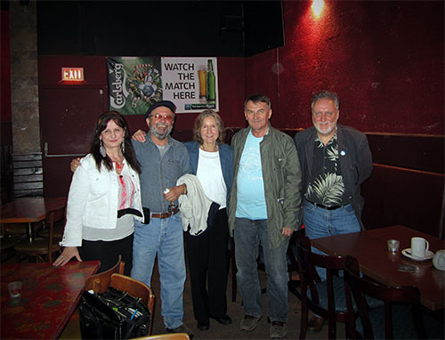 Poetic Justice reading at the Heritage Grill in New Westminster